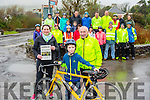 The Ita Corridan Valentine Ride will take place on Saturday 13th February at 12 noon from Caherdaniel to Sneem and back with proceeds going to the Marymount Hospice and a Local Cause pictured front l-r; Deirdre, Adam & Tom Corridan.