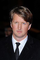 Tom Hooper<br /> attending the 57th BFI London Film Festival Closing Night Gala World Premiere of 'Saving Mr Banks', Odeon Cinema, Leicester Square, London, England. <br /> 20th October 2013<br /> headshot portrait blue suit tie white shirt <br /> CAP/MAR<br /> © Martin Harris/Capital Pictures