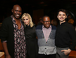 James Jackson Jr., Judith Light, Michael R. Jackson and Sean Patrick Cameron attends the 2019 DGF Madge Evans And Sidney Kingsley Awards at The Lambs Club on March 18, 2019 in New York City.