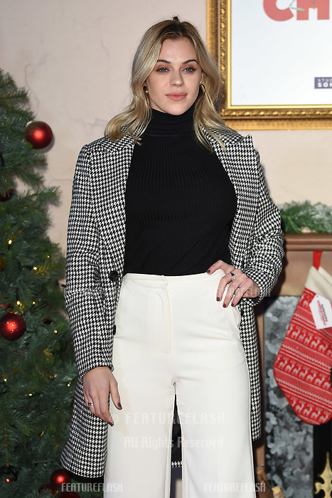 """LONDON, UK. November 21, 2018: Laura Crane at the """"Surviving Christmas with the Relatives"""" premiere at the Vue Leicester Square, London.<br /> Picture: Steve Vas/Featureflash"""