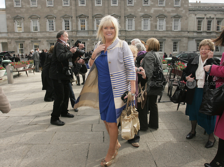 09/03/2011.Fine Gael TD Mary Mitchell O' Connor.during the 1st day of the 31st Dail.at Leinster House,  Dublin..Photo: Gareth Chaney Collins