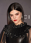 LOS ANGELES, CA - NOVEMBER 04: Singer-songwriter/actor Soko attends the 2017 LACMA Art + Film Gala Honoring Mark Bradford and George Lucas presented by Gucci at LACMA on November 4, 2017 in Los Angeles, California.