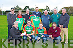 Padraig O'Sullivan Beaufort Bar, Captain, Pa Kilkenny and Morgan O'Sullivan Jacks Coastguard. Back row: Kieran O'Shea, Joan McGillicuddy, Kieran Hennerbery, Sean O'Sullivan, Gary O'Connor, Michael Sayers and Michael Murphy