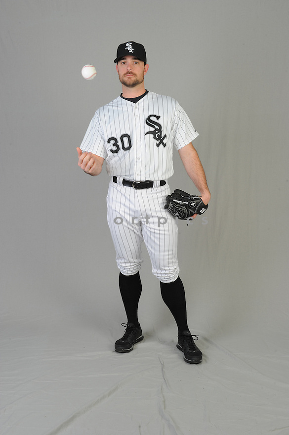 Chicago White Sox David Robertson (30) during photo day on February 28, 2015 in Glendale, AZ.