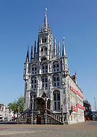 Stadhuis van Gouda op het marktplein