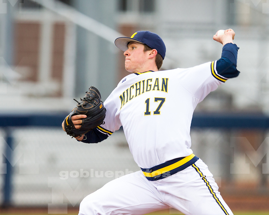 The University of Michigan baseball team beat Penn State, 5-1, at the Wilpon Baseball Complex in Ann Arbor, Mich., on April 12, 2013.