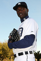 Feb 21, 2009; Lakeland, FL, USA; The Detroit Tigers pitcher Alfredo Figaro (45) during photoday at Tigertown. Mandatory Credit: Tomasso De Rosa/ Four Seam Images