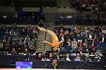 British Gymnastics Championships 2017<br /> The Liverpool Echo Arena<br /> Carrlisa Alleyne Cardiff Central Youth Club<br /> 25.03.17<br /> ©Steve Pope - Sportingwales