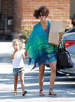 Halle Berry & daughter Nahia in Malibu - Exclusive photos