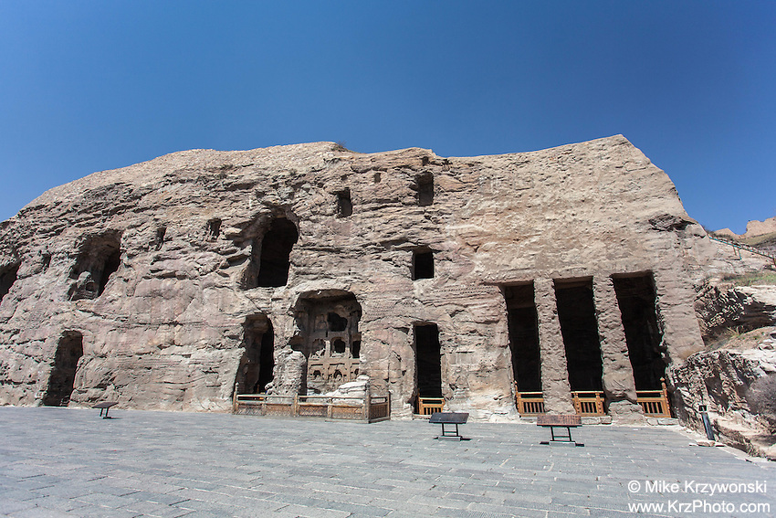 Yungang Grottoes, Datong, China