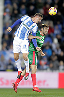 CD Leganes' Guido Carrillo (L) and Deportivo Alaves' Manu Garcia  during La Liga match. November 23,2018. (ALTERPHOTOS/Alconada) /NortePhoto.com