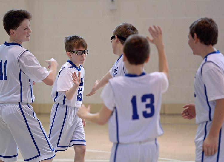 (Holyoke, MA, 02/13/16) MD Saints basketball in Holyoke on Saturday, February 13, 2016. Photo by Christopher Evans
