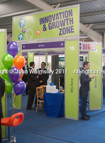 Innovation and growth zone, Kent2020Vision show, County Showground, Kent.