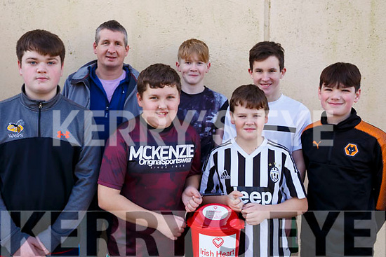 Players and mentors who participated in the Jack O'Sullivan 3rd annual Memorial five-a-side soccer tournament held in the Ballybunion Community Centre on Sunday last. l-r, Ben Murphy, Michael Murphy, Danny Finch, Joseph Finch, Conor Murphy, Ben Murphy and Jack Mallon.