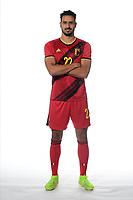 Nacer Chadli midfielder of Belgium  <br /> Tubize 12/11/2019 <br /> Calcio presentazione della nuova maglia della Nazionale del Belgio <br /> Photo De Voecht  Kalut/Photonews/Panoramic/insidefoto<br /> ITALY ONLY