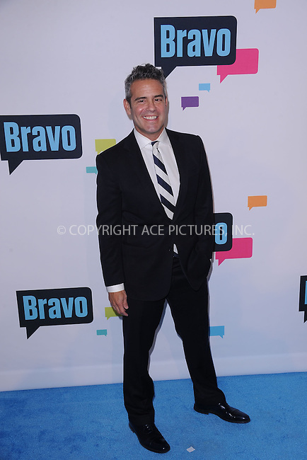 WWW.ACEPIXS.COM . . . . . .April 3, 2013...New York City...Andy Cohen attends the 2013 Bravo New York Upfront at Pillars 37 Studios on April 3, 2013 in New York City ....Please byline: KRISTIN CALLAHAN - ACEPIXS.COM.. . . . . . ..Ace Pictures, Inc: ..tel: (212) 243 8787 or (646) 769 0430..e-mail: info@acepixs.com..web: http://www.acepixs.com .
