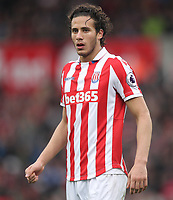 Stoke City's Ramadan Sobhi<br /> <br /> Photographer Mick Walker/CameraSport<br /> <br /> The Premier League - Stoke City v Chelsea - Saturday 18th March 2017 - bet365 Stadium - Stoke<br /> <br /> World Copyright &copy; 2017 CameraSport. All rights reserved. 43 Linden Ave. Countesthorpe. Leicester. England. LE8 5PG - Tel: +44 (0) 116 277 4147 - admin@camerasport.com - www.camerasport.com