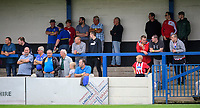 Fans from all three clubs, Lincoln City, Lincoln United and Gainsborough Trinity watch the game<br /> <br /> Photographer Chris Vaughan/CameraSport<br /> <br /> Football Pre-Season Friendly (Community Festival of Lincolnshire) - Lincoln City v Lincoln United - Saturday 6th July 2019 - The Martin & Co Arena - Gainsborough<br /> <br /> World Copyright © 2018 CameraSport. All rights reserved. 43 Linden Ave. Countesthorpe. Leicester. England. LE8 5PG - Tel: +44 (0) 116 277 4147 - admin@camerasport.com - www.camerasport.com