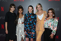 LOS ANGELES, CA - MAY 29: Jessica Radloff, Logan Browning, Gillian Jacobs, June Diane Raphael, Justina Machado<br /> , at the #NETFLIXFYSEE Comediennes: In Conversation Event at NETFLIX FYSEE Raleigh Studios in Los Angeles, California on May 29, 2018. <br /> CAP/MPI/FS<br /> &copy;FS/MPI/Capital Pictures