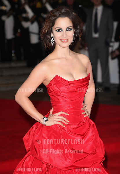 Berenice Marlohe arriving for the Royal World Premiere of 'Skyfall' at Royal Albert Hall, London. 23/10/2012 Picture by: Alexandra Glen / Featureflash
