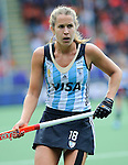 The Hague, Netherlands, June 14: ?ar18+ looks on during the field hockey bronze medal match (Women) between USA and Argentina on June 14, 2014 during the World Cup 2014 at Kyocera Stadium in The Hague, Netherlands. Final score 2-1 (2-1)  (Photo by Dirk Markgraf / www.265-images.com) *** Local caption ***