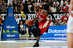 Louis Campbell - Eurocup 2016 - Basket ball - Dolomiti Energia Trentino vs Strasbourg on 6th April 2016. SIG Strasbourg qualifies for the Final with 86 pts vs 78 pts for Trento
