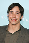 "HOLLYWOOD, CA. - February 02: Actor Justin Long arrives at the Los Angeles Premiere of ""He's Just Not That Into You"" held at the Grauman's Chinese Theatre on February 2, 2009 in Los Angeles, California."