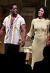 Blair Underwood, Nicole Ari Parker.during the Broadway Opening Night Curtain Call for 'A Streetcar Named Desire' on 4/22/2012 at the Broadhurst Theatre in New York City.