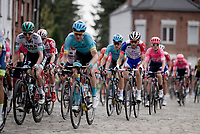 Thibaut Pinot (FRA/Groupama-FDJ) over the cobbles<br /> <br /> Stage 1: Brussels to Brussels(BEL/192km) 106th Tour de France 2019 (2.UWT)<br /> <br /> ©kramon