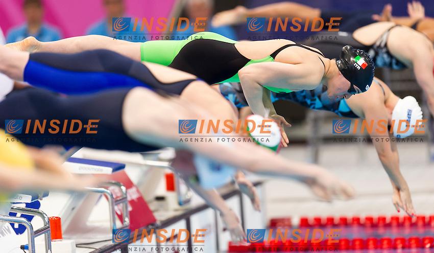 TONI Carlotta ITA<br /> London, Queen Elizabeth II Olympic Park Pool <br /> LEN 2016 European Aquatics Elite Championships <br /> Swimming<br /> Women's 200m medley preliminary  <br /> Day 10 18-05-2016<br /> Photo Giorgio Perottino/Deepbluemedia/Insidefoto