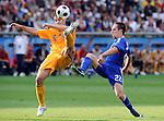 EM Fotos Fussball UEFA Europameisterschaft 2008: Rumaenien - Frankreich