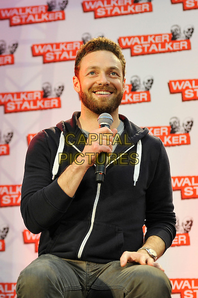 LONDON, ENGLAND - FEBRUARY 21: Ross Marquand attending 'Walker Stalker Con 2015' at Olympia in London on February 21, 2016 in London, England.<br /> CAP/MAR<br /> &copy; Martin Harris/Capital Pictures