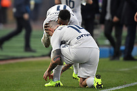Keita Balde of Internazionale celebrates kissing Radja Nainggolan after scoring his side first goal during the Serie A 2018/2019 football match between Empoli and Internazionale at stadio Castellani, Empoli, December, 29, 2018 <br /> Foto Andrea Staccioli / Insidefoto