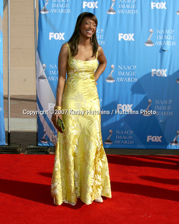 Aisha Tyler.NAACP Image Awards.Shrine Auditorium.Los Angeles, CA.March 2, 2007.©2007 Kathy Hutchins / Hutchins Photo...