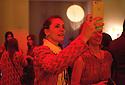 Margherita Maccapani Missoni takes pictures with a smartphone at Knitown, mise en scene designed for Spazio Missoni by artist Aldo Lanzini with the creative direction of Angela Missoni, Milan April 12, 2016. &copy; Carlo Cerchioli<br /> <br /> Margherita Missoni scatta una fotografia con lo smartphone a Knitown, messa in scena creata in occasione del Salone del mobile per lo Spazio Missoni dall'artista Aldo Lanzini con la direzione artistica di Angela Missoni, Milano, 12 aprile 2016.