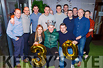 Dan Buckley celebrating his 30th birthday in Benners Hotel on Friday night.<br /> Seated l to r: AnnMarie O'Shea, Dan Buckley and Liam O'Carroll.<br /> Back l to r: James Hurley, Tim O'Keeffe, Tom Sugrue, Ian Egan, Neil, Damien and Sean O'Sullivan,  John Coffey, Dave O'Donovan, John Burke and Bridget Foley.