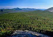 Appalachian Trail - Scenic view from Mount Jackson during the summer months in the White Mountain National Forest in New Hampshire.