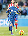 Getafe's Victor Rodriguez during La Liga match. February 14,2016. (ALTERPHOTOS/Acero)