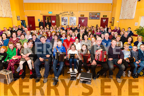 Night of Music with Rambling House Beaufort in the Beaufort Community Hall last Saturday night.