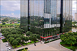 Edificio do Santander, Vila Olimpia, Sao Paulo. 2018. Foto de Juca Martins.