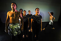 Te Auaha performing arts photoshoot at Whitireia Performance Centre in Wellington, New Zealand on Monday, 15 May 2017. Photo: Dave Lintott / lintottphoto.co.nz