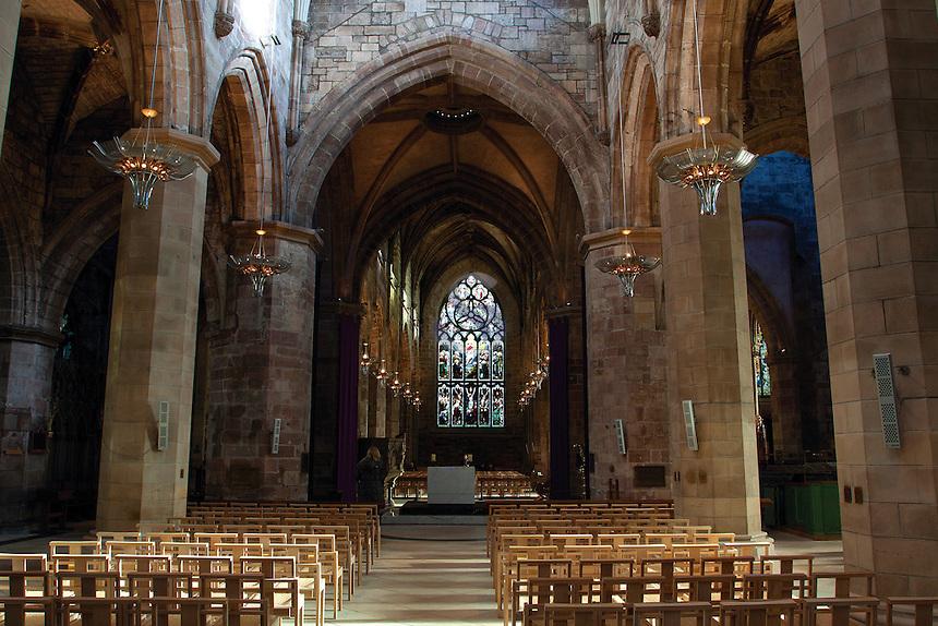 St Giles Cathedral, The Royal Mile, Edinburgh, Lothian