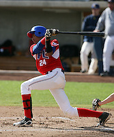 Jose Pujols - Dominican Prospect League all-stars 2012 minor league spring training (Bill Mitchell)