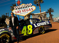 Jimmie Johnson Coverage-Champions Week-Las Vegas 2009 (P)