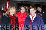 Liz O'Shea, Caroline Falvey and Joan Griffin enjoying the Glenbeigh/Glencar team homecoming in Glenbeigh on Monday night