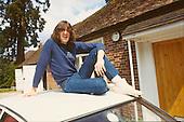 1983: DEF LEPPARD - Photosession with Joe Elliott  - Surrey UK