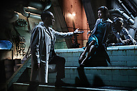 The Shape of Water (2017) <br /> Sally Hawkins, Doug Jones &amp; Michael Stuhlbarg<br /> *Filmstill - Editorial Use Only*<br /> CAP/MFS<br /> Image supplied by Capital Pictures