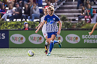 Allston, MA - Wednesday Sept. 07, 2016: Elizabeth Eddy, Natasha Dowie during a regular season National Women's Soccer League (NWSL) match between the Boston Breakers and the Western New York Flash at Jordan Field.