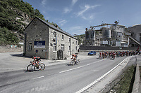 official start of this stage was given along this industrial Brickyard Landscape. <br /> <br /> <br /> Baloise Belgium Tour 2018<br /> Stage 4:  Wanze - Wanze 147.3km