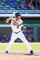 Collin Bennett, Hawaii Rainbows, playing against Fresno State in the championship game of the Western Athletic Conference tournament at Hohokam Park, Mesa, AZ - 05/30/2010. Hawaii won, 9-6, to capture its first league championship in 18 years..Photo by:  Bill Mitchell/Four Seam Images.